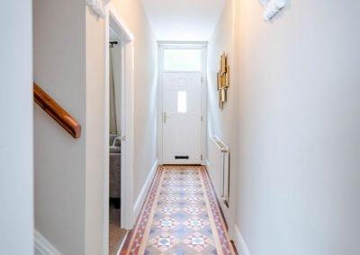 Padiham Road Refurbishment Mosaic Floor Hallway